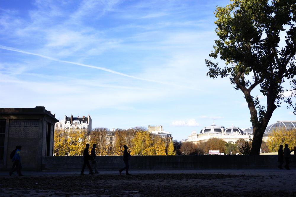 photo contrastée Paris