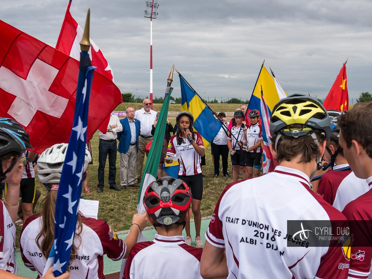 Cyclotourisme Côte d'Or 2016 - Reportage évènement 42
