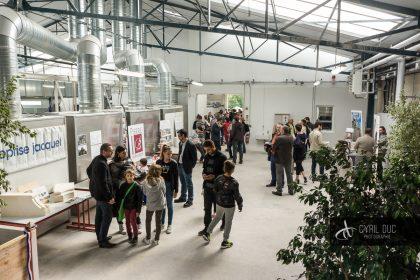 Inauguration atelier taille de pierres lycée Marcs d'Or 15