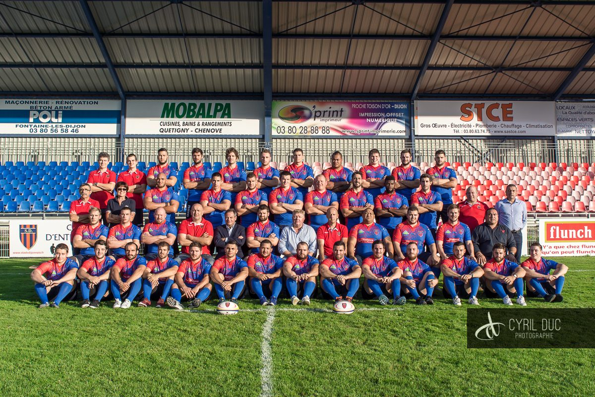 Photo officielle Stade Dijonnais 2016-2017