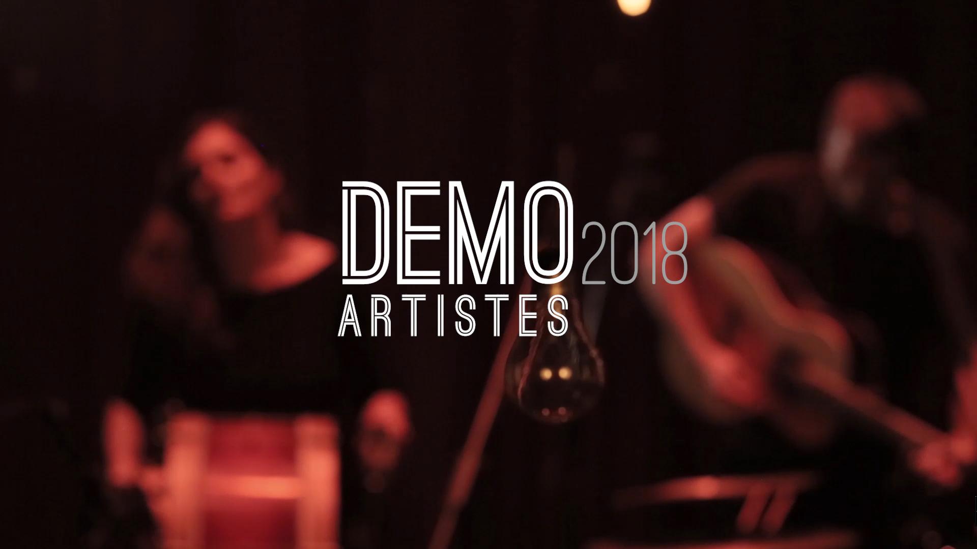 demo video Artistes