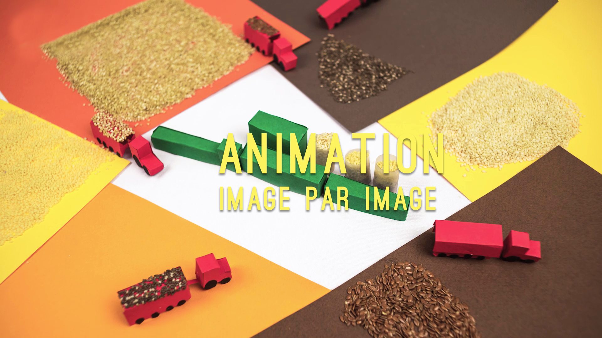 animation en stopmotion image par image pour film d'entreprise