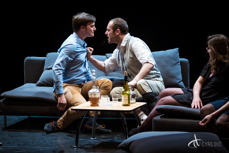 Les Enivrés - piece theatre
